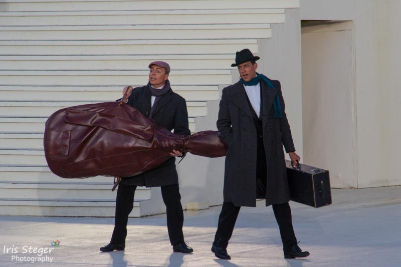 Franz Frickel als Jerry und Maximilian Mann als Joe