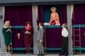 Franz Frickel als Daphne, Maximilian Mann als Josephine, Marie-Anjes Lumpp als Sugar Kane, Tilmann von Bloomberg als Bienenstock und Lada Wongpeng als Sweet Sue