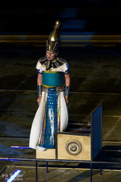 Thomas Wissmann als Pharao