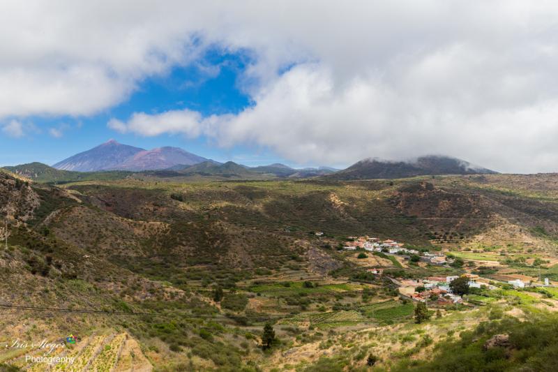 Blick auf den Pico de Teide