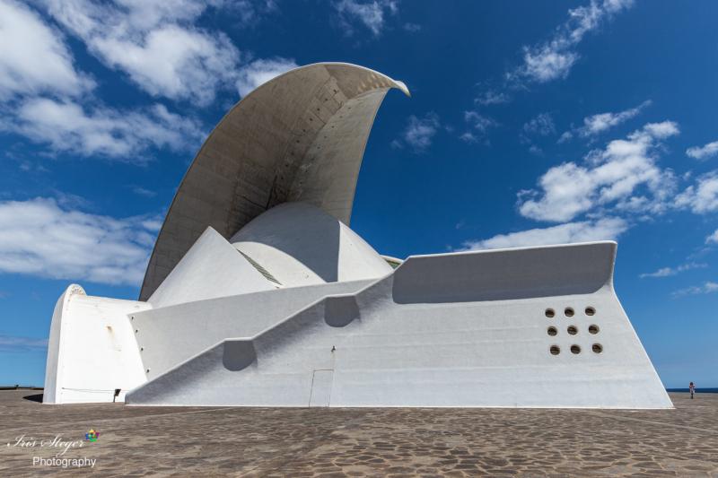 Auditorio in Santa Cruz de Tenerife