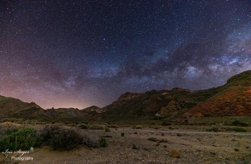 Parque Nacional del Teide bei Nacht