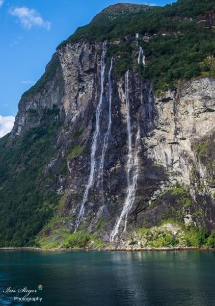 Sieben Schwestern Wasserfälle