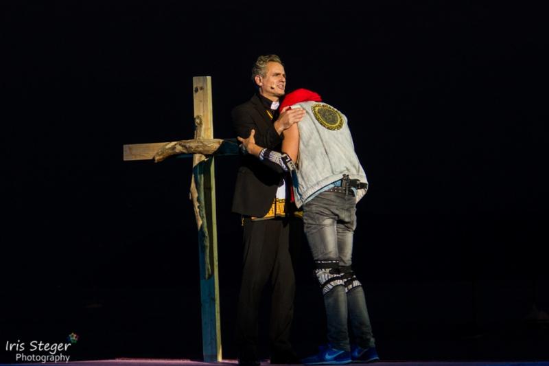 Dirk Johnston (Romeo) & Steffen Häuser (Pater Lorenzo)