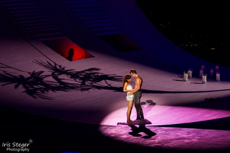 Iréna Flury (Julia) & Dirk Johnston (Romeo)