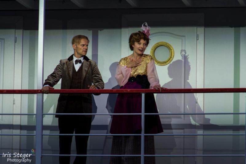 Pia Lustenberger und Roland Hermann ( Alice & Edgard Bean)